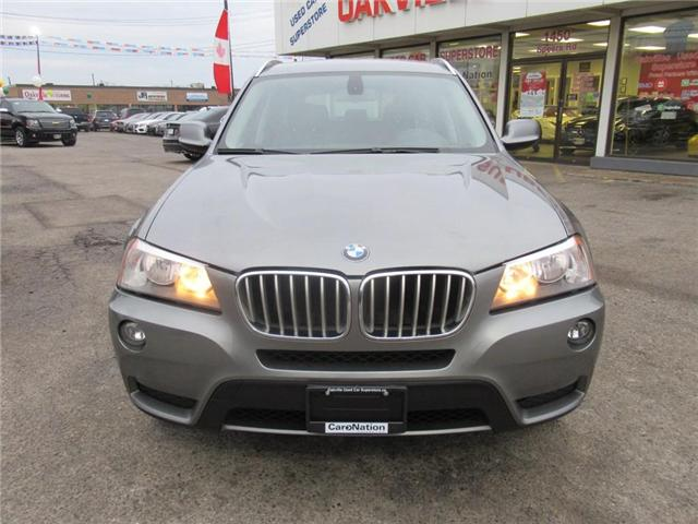 2012 BMW X3 xDrive28i | NAV | BLUETOOTH | LEATHER SEATS (Stk: P11710) in Oakville - Image 2 of 26