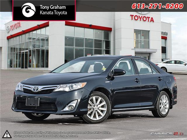 2013 Toyota Camry Hybrid XLE (Stk: K4122A) in Ottawa - Image 1 of 28