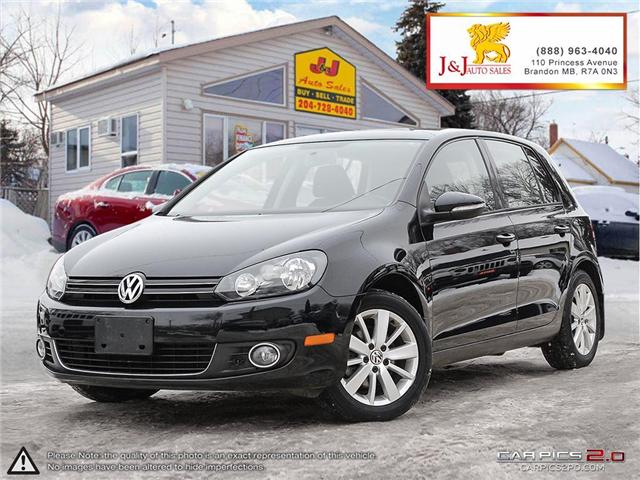2013 Volkswagen Golf 2.0 TDI Comfortline (Stk: J18123) in Brandon - Image 1 of 27