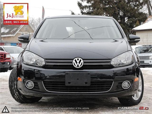 2013 Volkswagen Golf 2.0 TDI Comfortline (Stk: J18123) in Brandon - Image 2 of 27