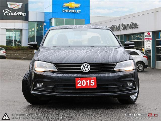 2015 Volkswagen Jetta 2.0 TDI Comfortline (Stk: 15-33809SR) in Toronto - Image 2 of 27