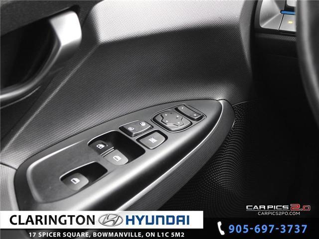 2019 Hyundai Veloster 2.0 GL (Stk: 16708B) in Clarington - Image 10 of 27