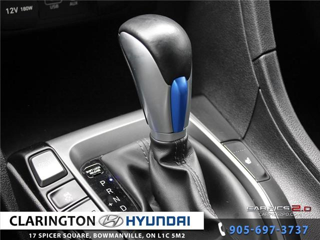 2019 Hyundai Veloster 2.0 GL (Stk: 16708B) in Clarington - Image 13 of 27