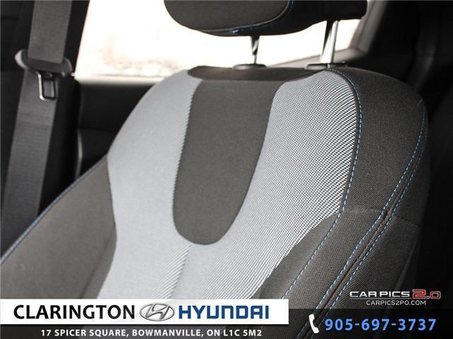 2019 Hyundai Veloster 2.0 GL (Stk: 16708B) in Clarington - Image 18 of 27