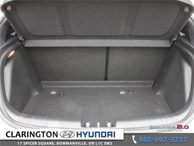 2019 Hyundai Veloster 2.0 GL (Stk: 16708B) in Clarington - Image 26 of 27