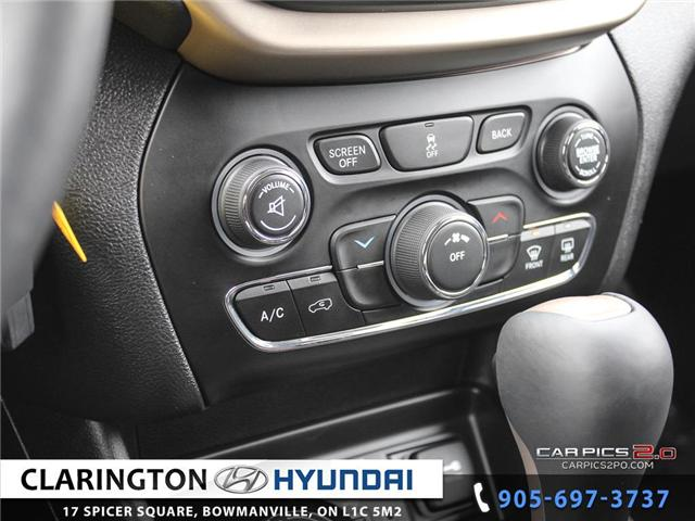 2018 Jeep Cherokee Sport (Stk: 18858A) in Clarington - Image 14 of 27