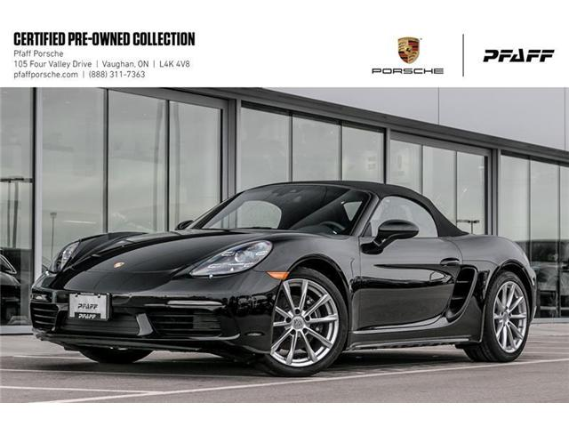 2018 Porsche 718 Boxster PDK (Stk: U7532) in Vaughan - Image 1 of 22
