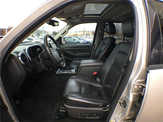 2007 Ford Explorer LIMITED 4WD NAVI, LEATHER, ALLOYS, FOG, 7 PASS, SU (Stk: 43019A) in Brampton - Image 4 of 27