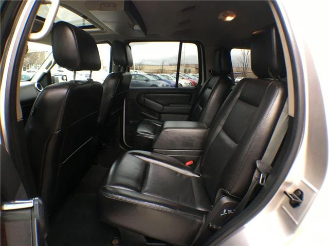 2007 Ford Explorer LIMITED 4WD NAVI, LEATHER, ALLOYS, FOG, 7 PASS, SU (Stk: 43019A) in Brampton - Image 10 of 27