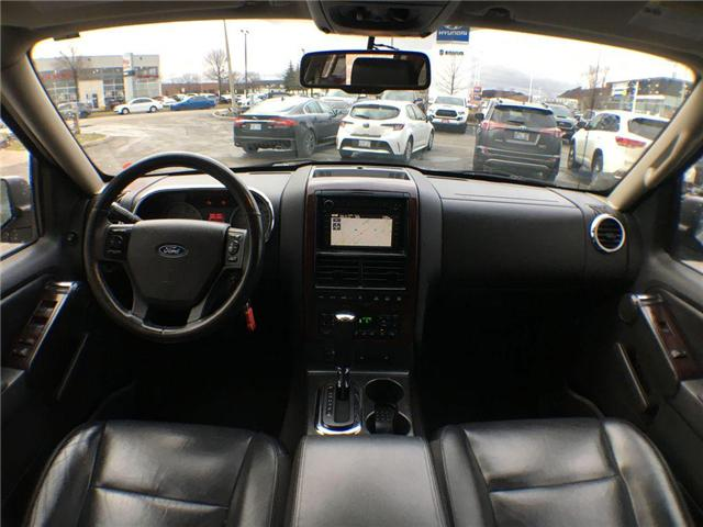 2007 Ford Explorer LIMITED 4WD NAVI, LEATHER, ALLOYS, FOG, 7 PASS, SU (Stk: 43019A) in Brampton - Image 16 of 27