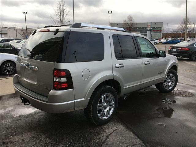 2007 Ford Explorer LIMITED 4WD NAVI, LEATHER, ALLOYS, FOG, 7 PASS, SU (Stk: 43019A) in Brampton - Image 19 of 27