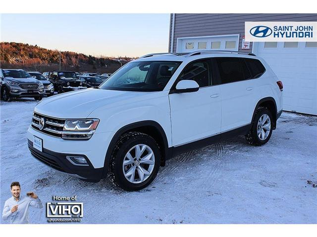 2018 Volkswagen Atlas 3.6 FSI Highline (Stk: U1979) in Saint John - Image 2 of 24