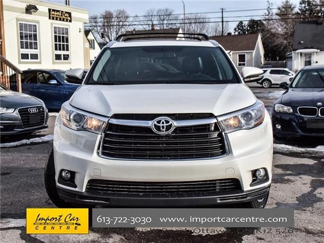 2016 Toyota Highlander Limited (Stk: 300685) in Ottawa - Image 2 of 24