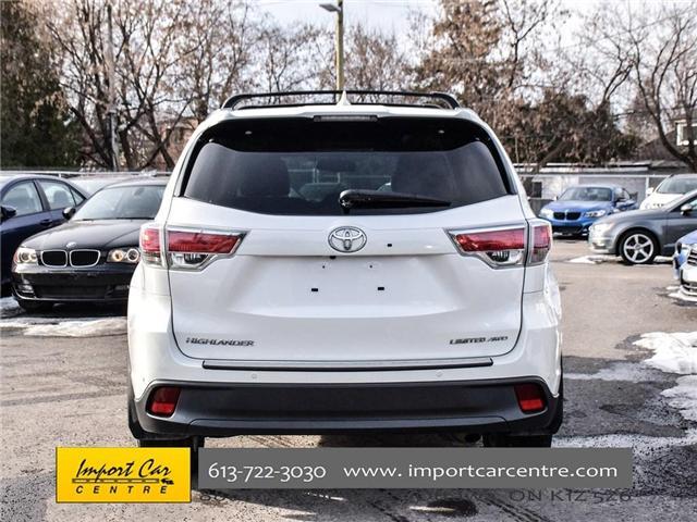 2016 Toyota Highlander Limited (Stk: 300685) in Ottawa - Image 5 of 24