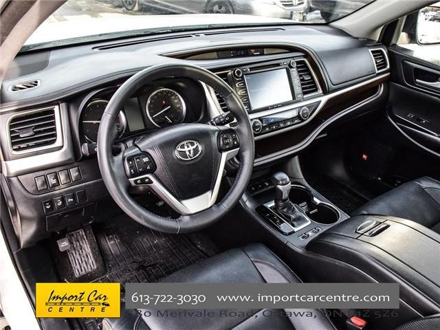 2016 Toyota Highlander Limited (Stk: 300685) in Ottawa - Image 9 of 24