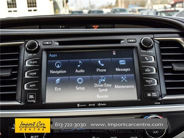 2016 Toyota Highlander Limited (Stk: 300685) in Ottawa - Image 22 of 24