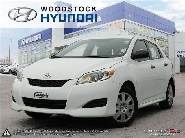 2013 Toyota Matrix Base (Stk: P1337) in Woodstock - Image 1 of 27