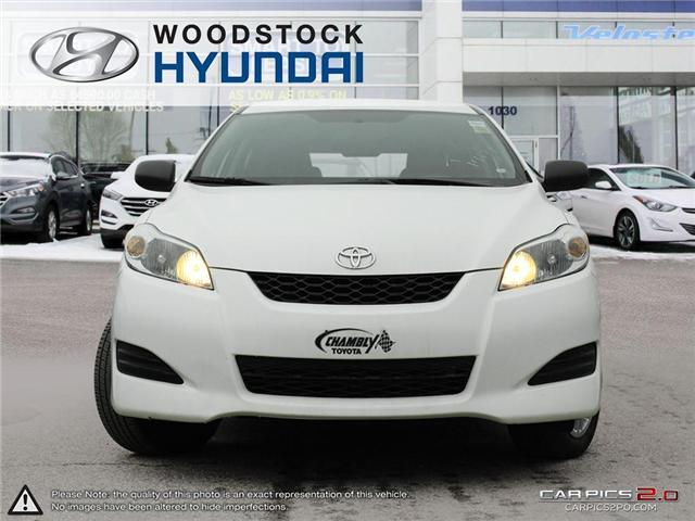 2013 Toyota Matrix Base (Stk: P1337) in Woodstock - Image 2 of 27
