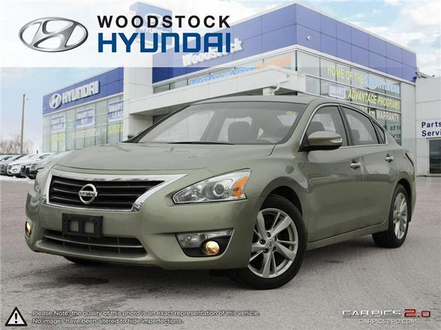 2014 Nissan Altima 2.5 SL (Stk: P1339) in Woodstock - Image 1 of 27