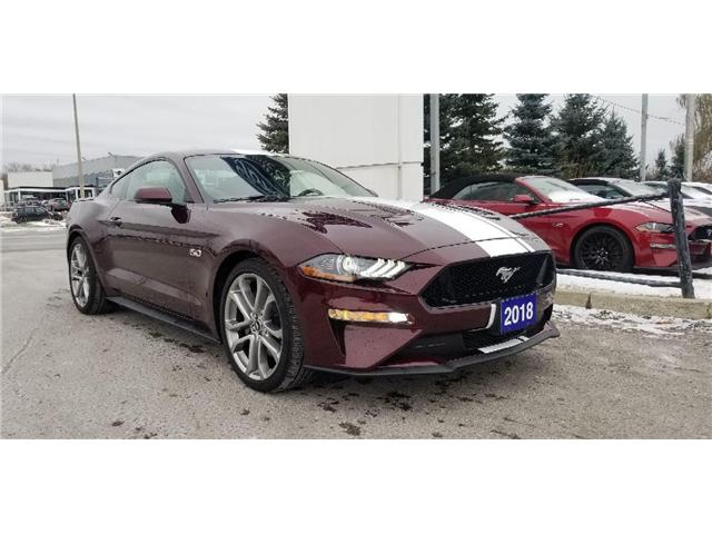 2018 Ford Mustang GT Premium (Stk: P8419) in Unionville - Image 1 of 22