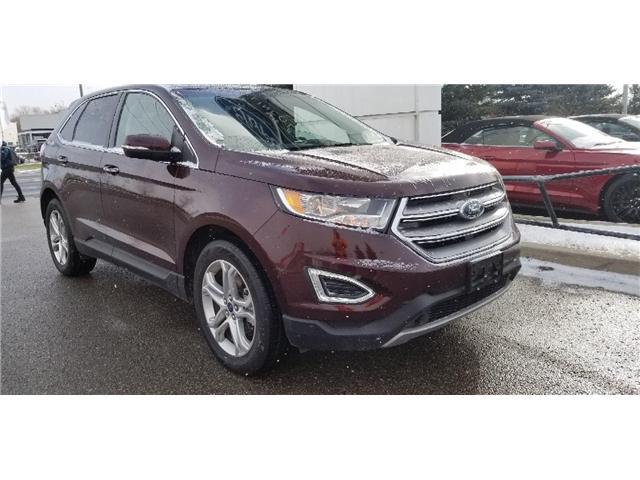 2018 Ford Edge Titanium (Stk: P8420) in Unionville - Image 1 of 24
