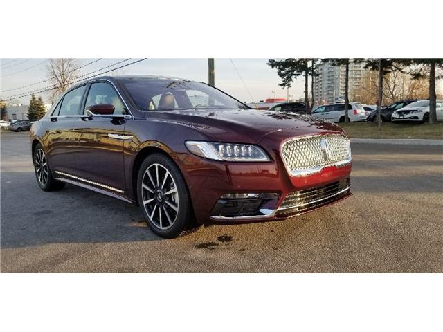 Used Lincoln Continental For Sale Uxbridge Ford