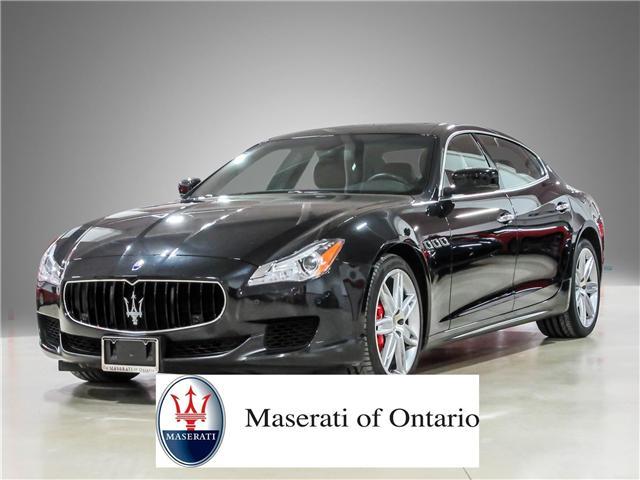 2015 Maserati Quattroporte S Q4 (Stk: U4189) in Vaughan - Image 1 of 26