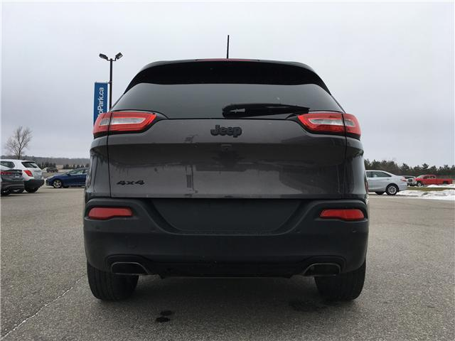 2018 Jeep Cherokee Limited (Stk: 18-25296RMB) in Barrie - Image 6 of 28