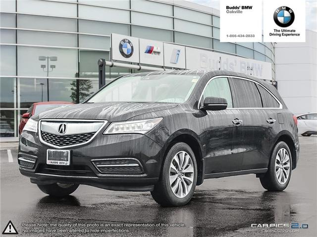 2016 Acura MDX Technology Package (Stk: T674875A) in Oakville - Image 1 of 22