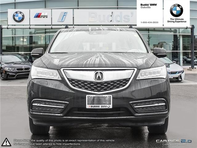 2016 Acura MDX Technology Package (Stk: T674875A) in Oakville - Image 2 of 22