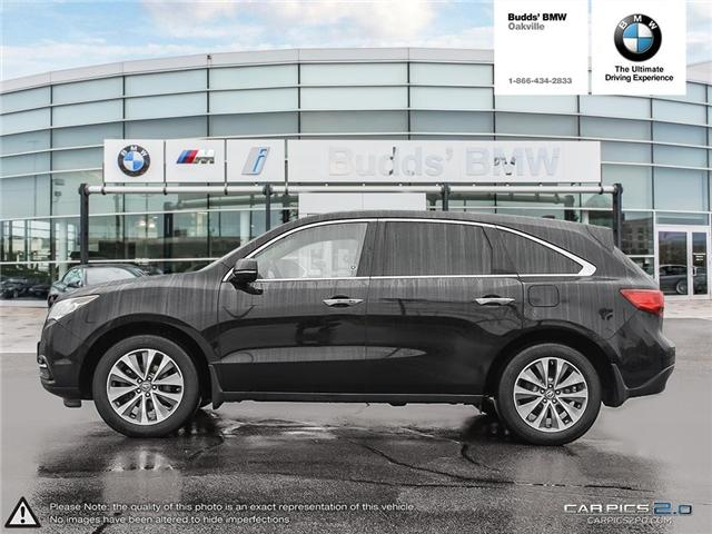 2016 Acura MDX Technology Package (Stk: T674875A) in Oakville - Image 3 of 22