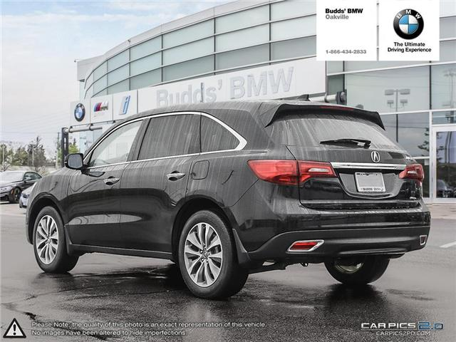 2016 Acura MDX Technology Package (Stk: T674875A) in Oakville - Image 4 of 22
