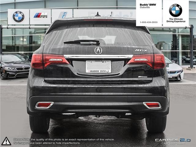 2016 Acura MDX Technology Package (Stk: T674875A) in Oakville - Image 5 of 22