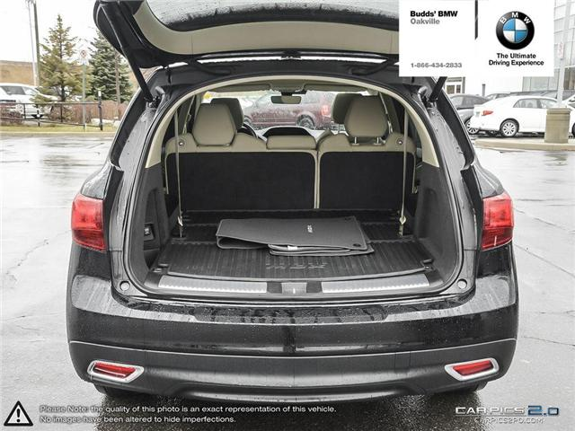 2016 Acura MDX Technology Package (Stk: T674875A) in Oakville - Image 16 of 22
