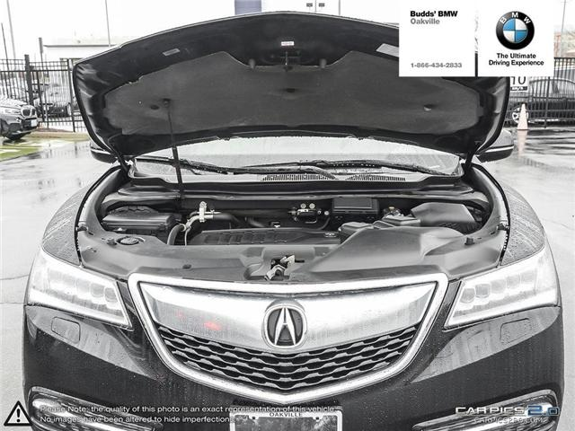 2016 Acura MDX Technology Package (Stk: T674875A) in Oakville - Image 17 of 22