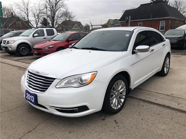 2013 Chrysler 200 Limited (Stk: 1C3CCB) in Belmont - Image 1 of 18