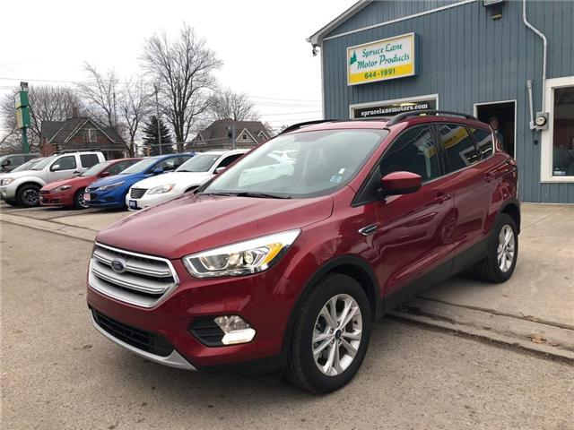 2018 Ford Escape SEL (Stk: 1FMCU9) in Belmont - Image 1 of 19