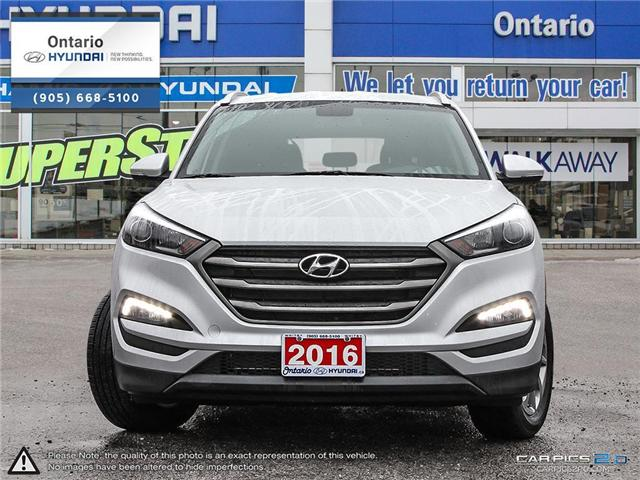 2016 Hyundai Tucson Premium 2.0 / AWD (Stk: 12642K) in Whitby - Image 2 of 27