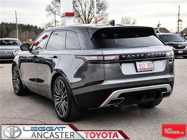 2018 Land Rover Range Rover Velar R-Dynamic HSE (Stk: 3769) in Ancaster - Image 4 of 23