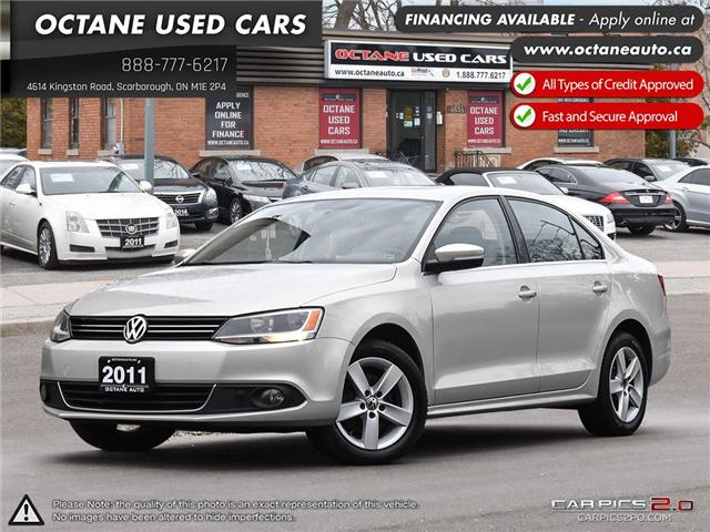 2011 Volkswagen Jetta 2.0 TDI Comfortline (Stk: ) in Scarborough - Image 1 of 27