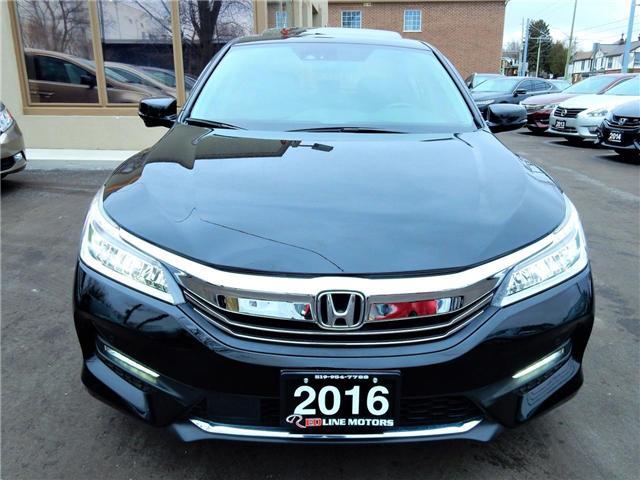 2016 Honda Accord Touring V6 (Stk: 1HGCR3) in Kitchener - Image 2 of 27