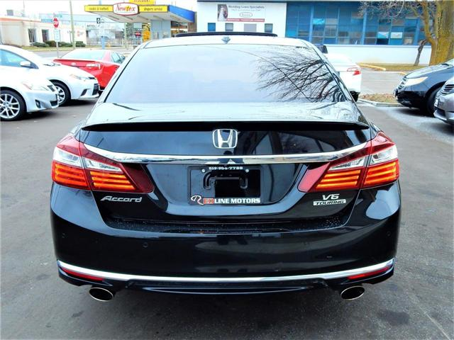 2016 Honda Accord Touring V6 (Stk: 1HGCR3) in Kitchener - Image 6 of 27