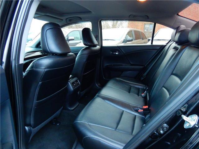 2016 Honda Accord Touring V6 (Stk: 1HGCR3) in Kitchener - Image 11 of 27