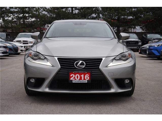 2016 Lexus IS 300 LUXURY PKG| BLINDSPOT MONITOR| NAV| LEATHER (Stk: P3159) in Burlington - Image 2 of 30