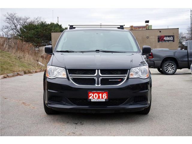 2016 Dodge Grand Caravan SE/CVP| DUAL CLIMATE| THULE ROOF RACKS| TINTED (Stk: J1261A) in Burlington - Image 2 of 30