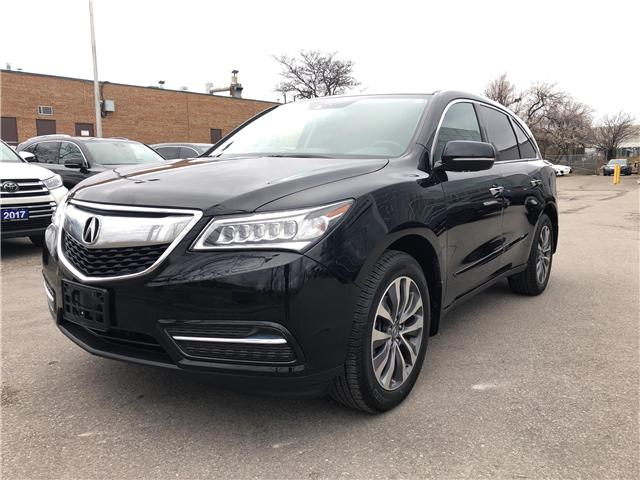 2015 Acura MDX Technology Package (Stk: 503556T) in Brampton - Image 1 of 24
