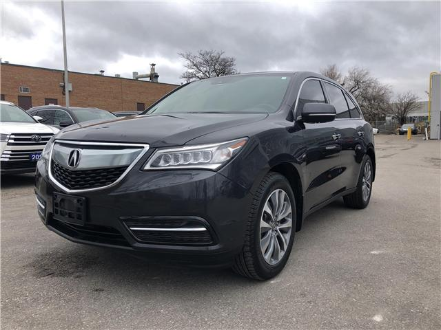 2016 Acura MDX Technology Package (Stk: 507769T) in Brampton - Image 1 of 25