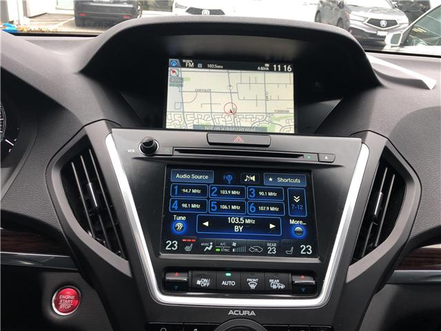 2016 Acura MDX Technology Package (Stk: 507769T) in Brampton - Image 16 of 25