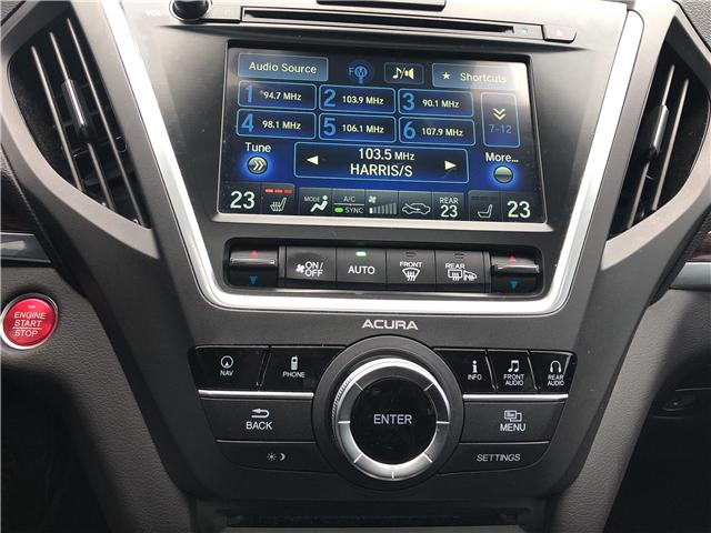 2016 Acura MDX Technology Package (Stk: 507769T) in Brampton - Image 17 of 25