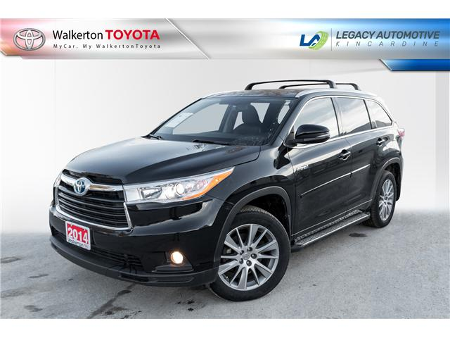 2014 Toyota Highlander Hybrid XLE (Stk: P8206) in Walkerton - Image 1 of 21